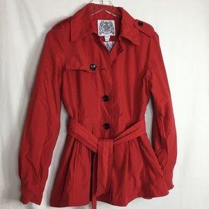 Esprit lightweight flared trench coat